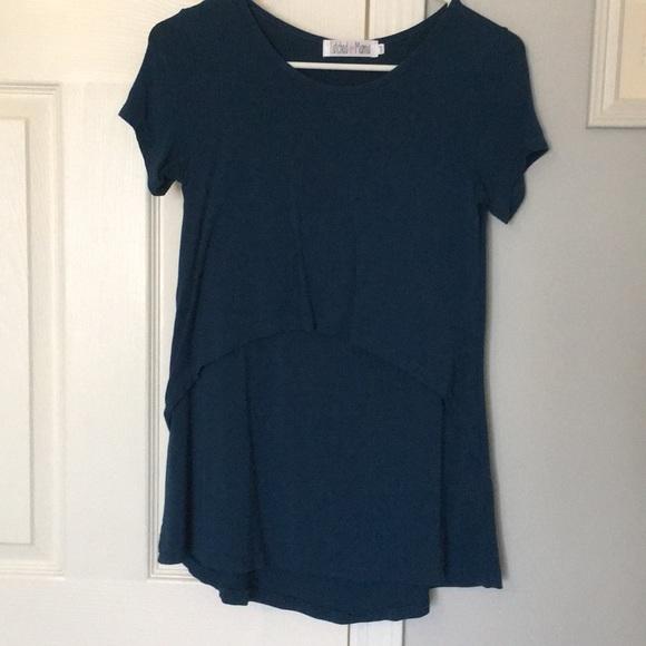 8a964f4d34a Latched Mama Tops | Nursing Tshirt 20 | Poshmark